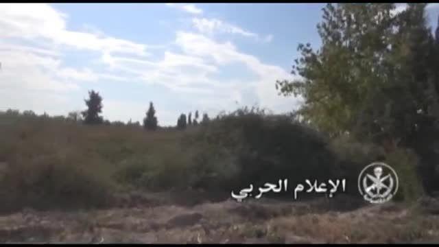 پیشروی ارتش سوریه به طرف فرودگاه مرج السلطان غوطه شرقی