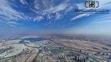 اولین تصویر پانوراما 2.5 گیگابایتی از فراز بلندترین ساختمان جهان