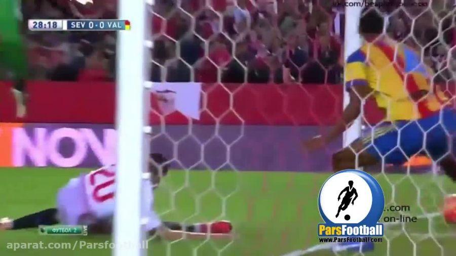 سویا 1-0 والنسیا؛ پیروزی شاگردان امری برابر خفاش ها