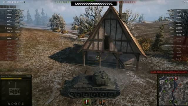 چگونه یه تانک سنگین رو اسکول کنیم؟