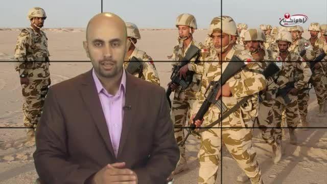 نیروهای بحرینی در رکاب عربستان، برای کشتار یمنی ها