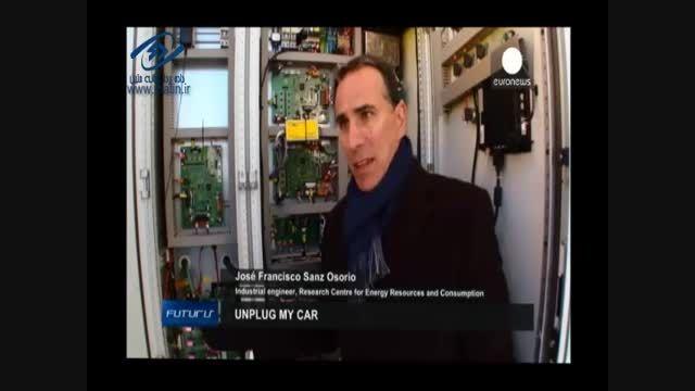 سامانه ای برای شارژ خودروهای الکتریکی بدون استفاده از ک