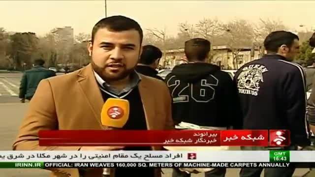 دستگیری سارقان با اسلحه قلابی در تهران!