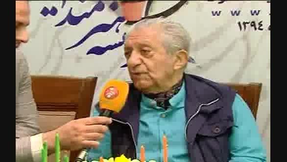 جشن تولد آقای بازیگر و هنرمندان خردادی