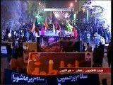 عزاداری پرشور مردم زنجان-دسته فاطمیون زنجان