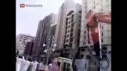فرو ریختن ساختمان مسکونی...!