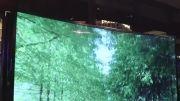 تلویزیون سامسونگ باقابلیت تبدیل از تخت به خمیده و برعکس