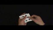 حتما ببینید: شعبده بازی تغییر اسرارآمیز کارتها