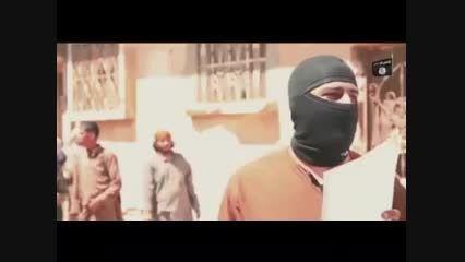 اعدام فجیع جوان سوری توسط داعش (+18)
