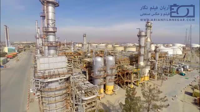 تصویربرداری هوایی پالایشگاه نفت تهران