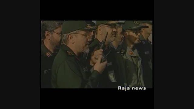 قدرت موشکی ایران در برار آمریکا