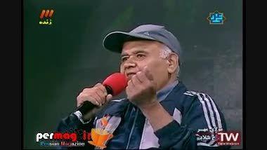 فحاشی اکبر عبدی به عرب ها در برنامه زنده