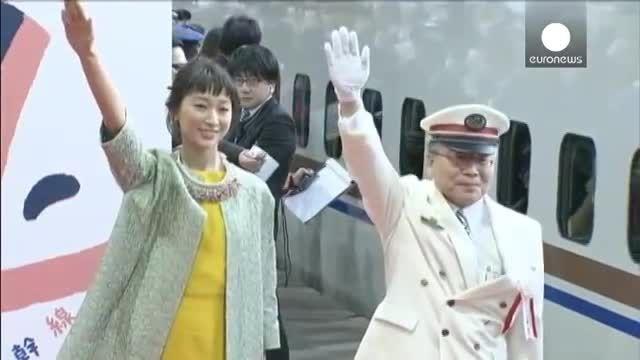 راه اندازی یک قطار سریع السیر جدید در ژاپن