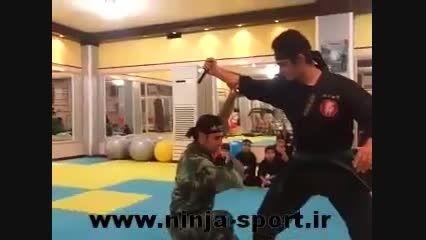 دفاع شخصی نینجا ( چاقو در مقابل چاقو )