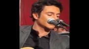خوانندگی محمدرضا گلزار در پشت صحنه کنسرت
