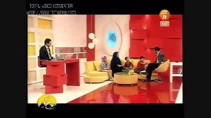 پاسخ محمدرضا به سوال مجری در مورد ساعت(پرسپولیسی)