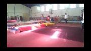 مسابقات ژیمناستیک کودکان در دزفول ایلیا غلامی