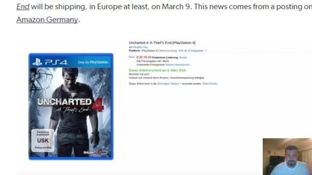 تاریخ انتشار Uncharted 4 توسط آمازون مشخص شد
