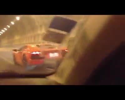 غرش اونتادور در تونل تهران