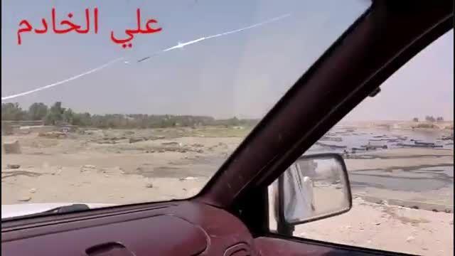 لحظه ورود داعش-سوریه-عراق-داعش