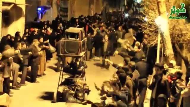 عزاداران پادرخت در جمع عزاداران حسینیه میدان کبیرمحمدیه