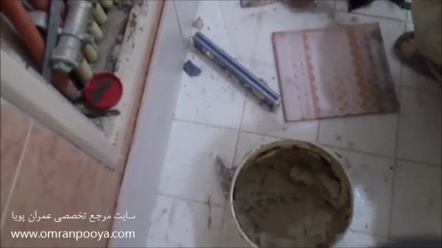 سایت عمران پویا - ساختمان - کاشی کاری دیوار