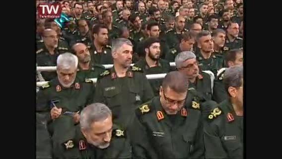 مشروح بیانات مقام معظم رهبری در دیدار فرماندهان سپاه