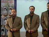 اجرای سرود برای امام زمان در حضور رییس جمهور