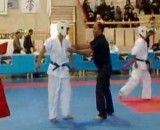 ضربات زیبای جوان خوزستانی در مسابقات کشوری کیوکوشین،حمید فواضلی