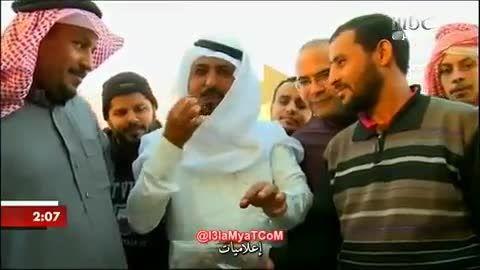 بازار ویژه خرید و فروش ملخ در یک کشور عربی
