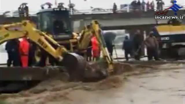 تصاویر سیل و آب گرفتگی در مازندران