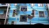 خانه ای در آلمان که هنگام بارش، آهنگ تولید می کند