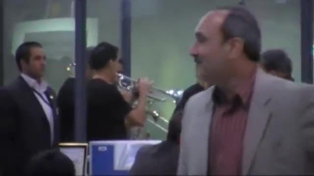 اولین فرود یک مسافر در فرودگاه تهران