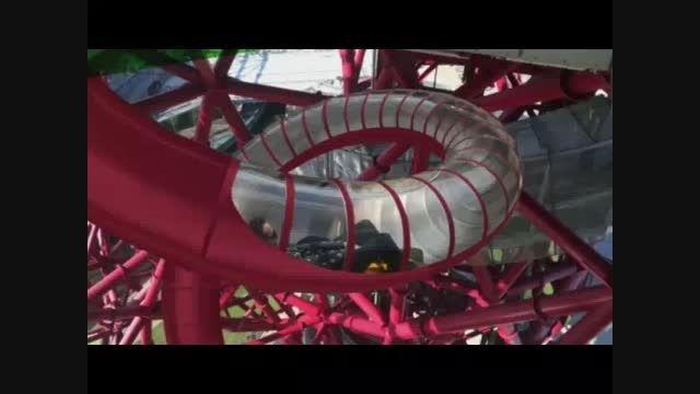 ساخت طولانی ترین سرسره تونلی جهان