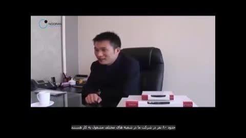 مصاحبه نوران با مدیر عامل شرکت زایکو