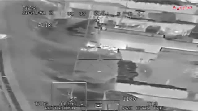 حمله هوایی جنگنده آمریکایی به نیروهای طالبان
