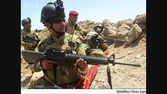 نیروهای مردمی در نبرد آزادسازی الرمادی از دست داعش
