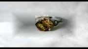 انگشتر جواهر سیترین