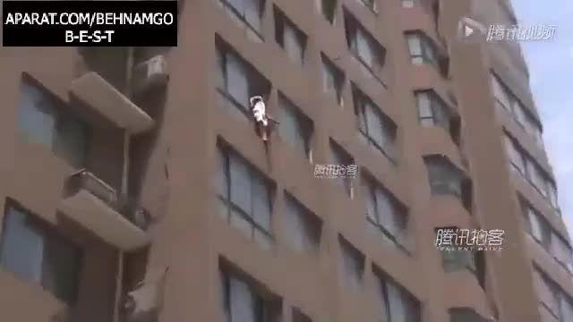 خودکشی درد ناک زن جوان از آپارتمان ....!
