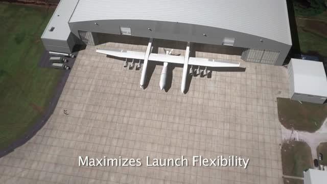 تولید Stratolaunch بزرگترین هواپیما جهان