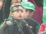 جشن بیست و چهارمین سالگرد تاسیس جنبش حماس در غزه