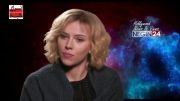 اسکارلت جوهانسون،  در یک گفتگوی تلویزیونی