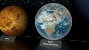 مقایسه اندازه سیارات و ستارگان