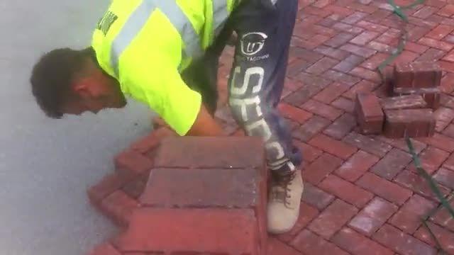سنگفرش کردن خفن خیابونها