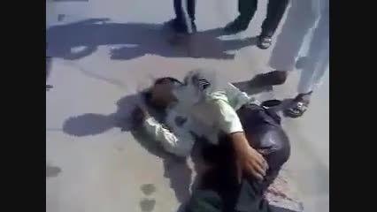 تیر خوردن و کشته شدن دو مأمور نیروی انتظامی