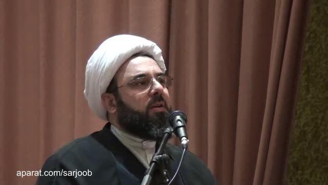 سخنرانی امام جمعه دولت آباد در همایش دانش آموزان برتر