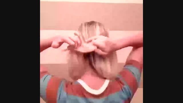 بافت مو بسیار زیبا