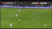 گل بازی دورتموند 1-0 گلادباخ