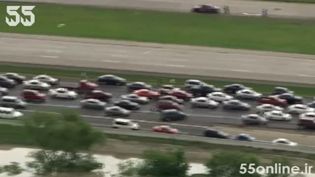 اتفاقات حیرت آور پس از وقوع سیل در تگزاس