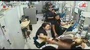 زنانی که سارق را دستگیر کردند